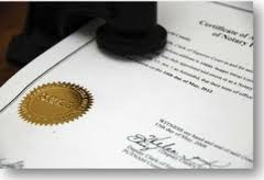 Notary requirements in New York