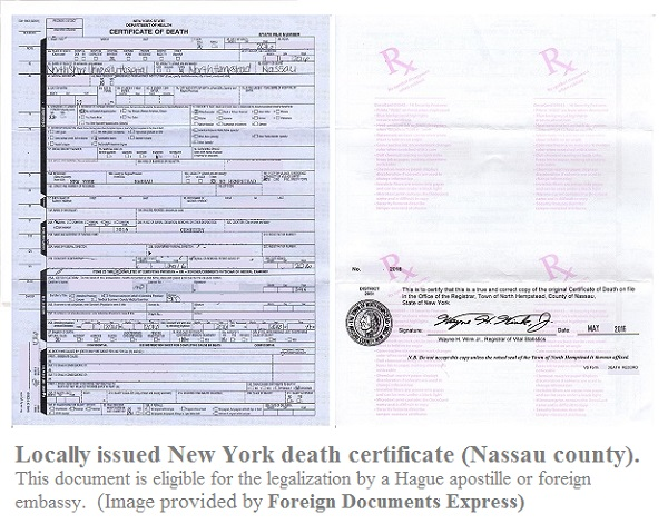 death certificate new york local nassau county